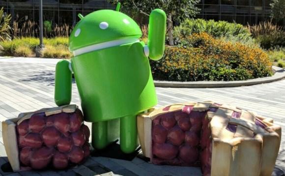 android pie xperia xz1