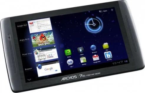 550 A70b internet tablet 492x315 Archos 70b arriva in Italia a 199€