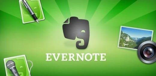 Evernote - Header
