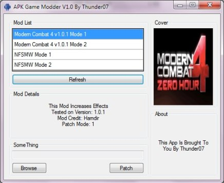 apk gamemodder