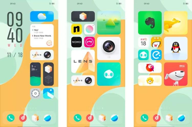 Vivo rivoluziona la sua interfaccia Android: benvenuta OriginOS, tutto ruota attorno ai widget (foto)