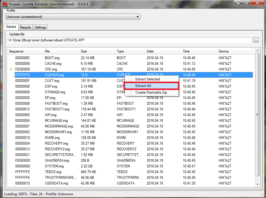 Fastboot Unknown Option I