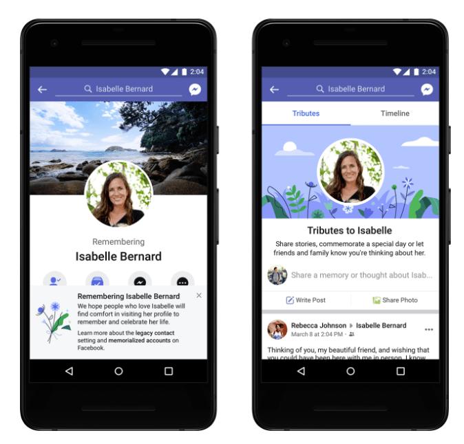 كيف تقوم بادارة حساب الفيسبوك بعد وفاة صاحب الحساب