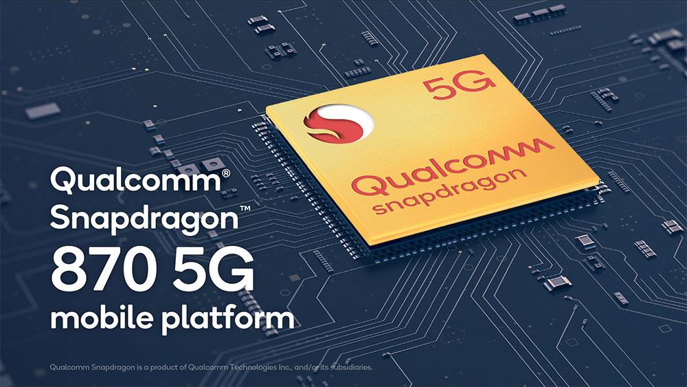 كوالكوم تكشف عن معالج Snapdragon 870 خلفًا لـ معالج Snapdragon 865 Plus