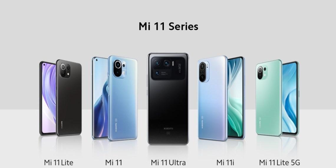 مواصفات وسعر هواتف شاومي Mi 11 Pro و Mi 11 Ultra و Mi 11 Lite و Mi 11i