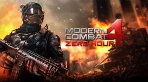 Modern Combat 4 Zero Hour APK MOD 1.2.3e