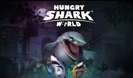 download game hungry shark world mod apk obb