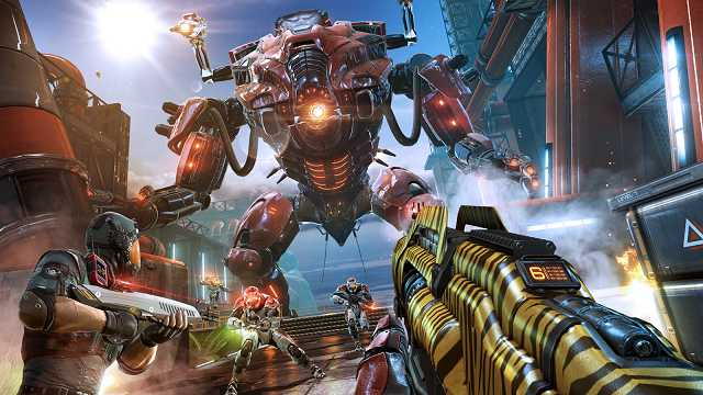 Shadowgun Legends Mod Apk Unlimited Gold