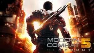 Modern Combat 5 Blackout MOD APK 4.2.1a