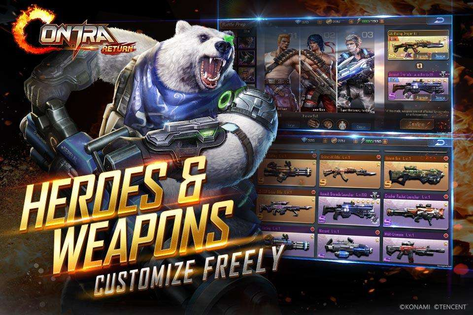 Download Game Contra Mod Apk idea gallery