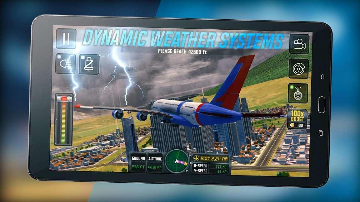 Flight Sim 2018 MOD APK Unlimited Money - AndroPalace