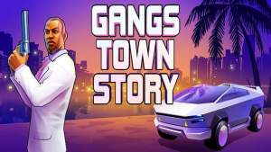 Gangs Town Story Streets of Fire MOD APK Unlimited Money