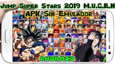 New Jump Super Stars 2019 M.U.G.E.N apk sin Emulador para Android