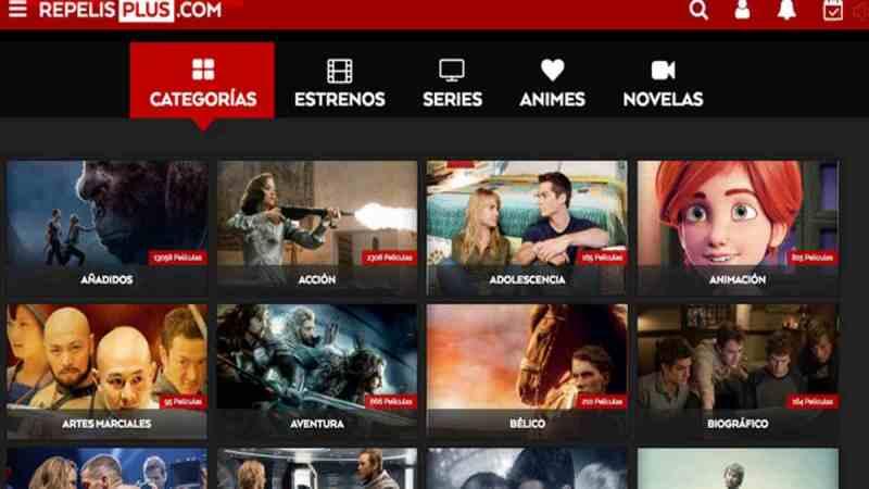 RepelisPlus APP para Android Mira tus mejores películas