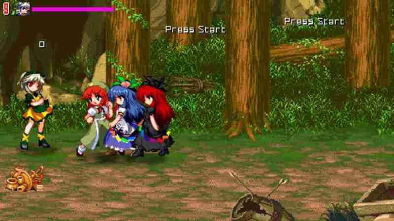 Touhou Madness Wrath Openbor para Android Peleas anime
