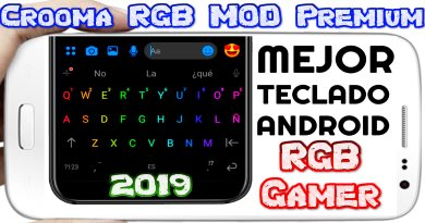 Chrooma Keyboard MOD Premium apk para Android Teclado Gamer RGB