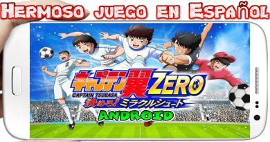 Captain Tsubasa ZERO Miracle Shot para Android Futbol con poderes
