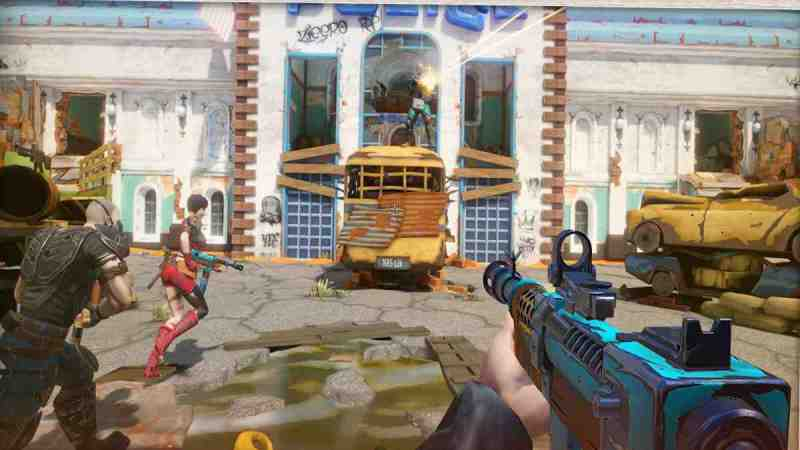Bitter End multiplayer Android first-person shooter Tremendo juego