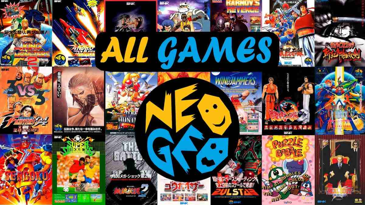 Mega Pack de Juegos Neo-Geo Arcade para Android
