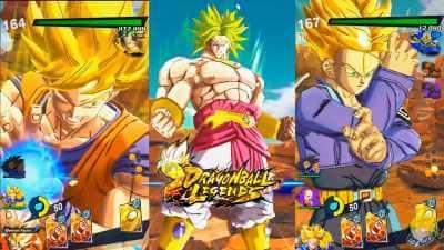 Descarga Dragon Ball Legends apk game for android