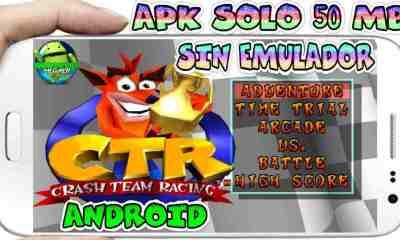 Crash Team Racing PSX apk sin Emulador para Android