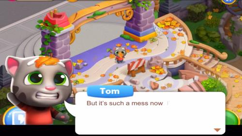 Talking Tom Fun Fair para Android