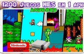 Mega Pack 1200 juegos en 1 Android apk Sin Emulador