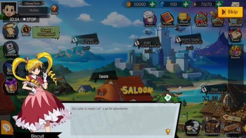Phantom Saga para Android anime hunter x hunter
