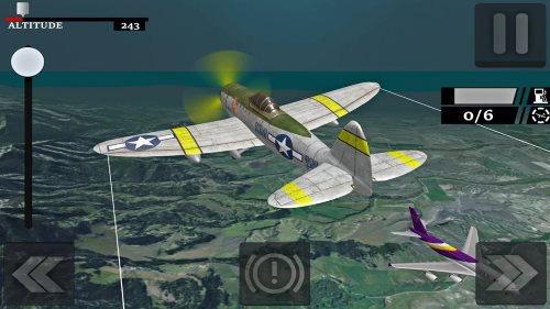 Airplane Free Fly Simulator 2019