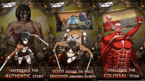 Attack on Titan Assault para Android