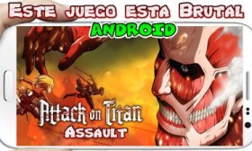 Attack on Titan Assault para Android Descarga