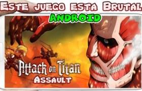 Attack on Titan Assault para Android Descarga