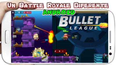 Bullet League Battle Royale para Android
