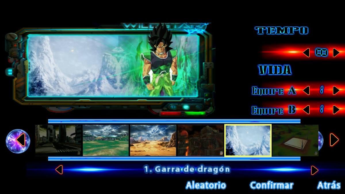 Dragon Ball TTT Mod versión Broly 2019 para Android apk