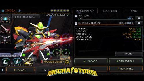 Mecha Storm Advanced War Robots apk