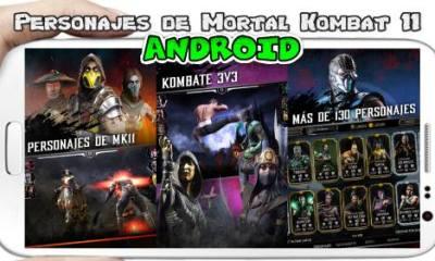 Personajes Mortal Kombat 11 en Android Descarga apk