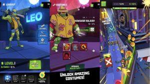 Rise of the TMNT Ninja Run para Android descarga