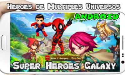 SuperHeroes Galaxy Olympus Rising para Android