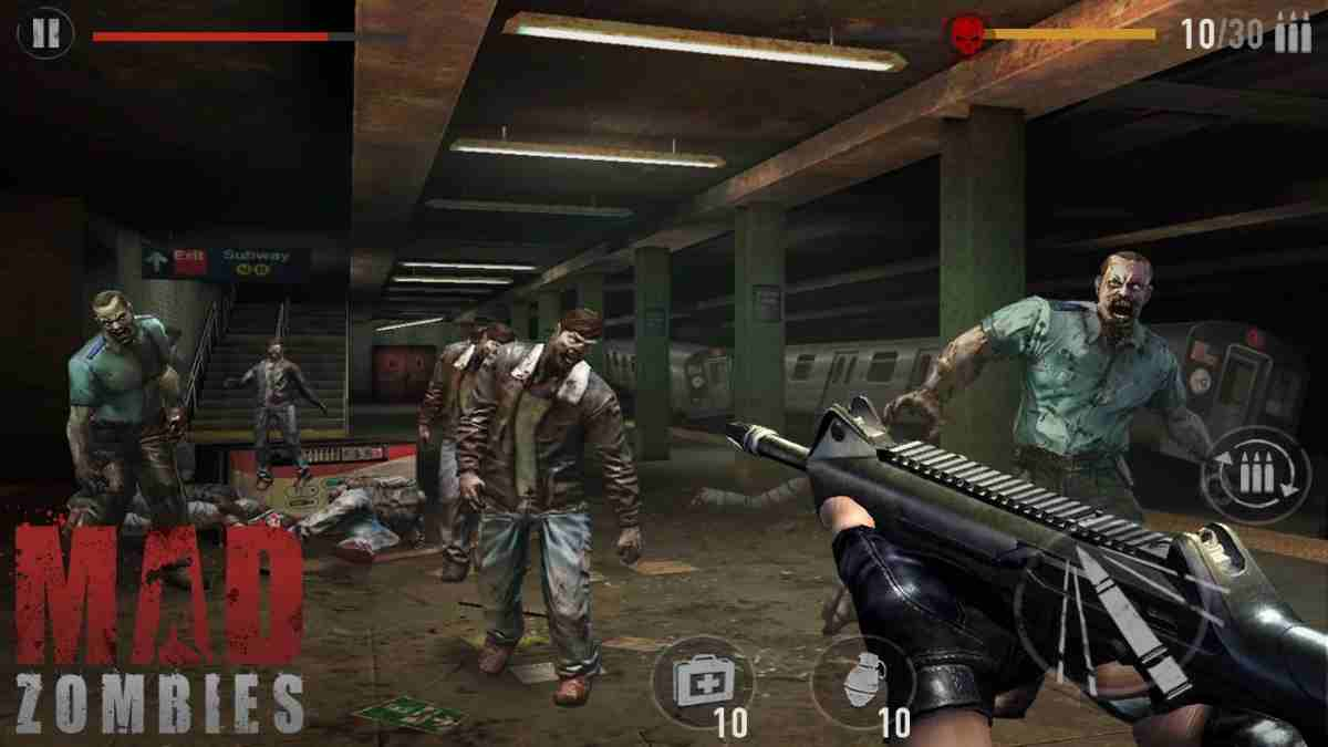 MAD ZOMBIES OFFLINE ZOMBIE GAMES para Android Incluye