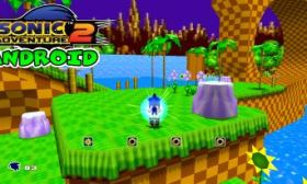 Sonic Adventure 2 en Android con Dreamcast Emulator Redream