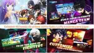 Jump Force TCG apk para Android Brutal Crossover