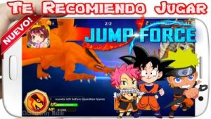 Jump Force TCG apk para Android Brutal Crossover Anime 2019