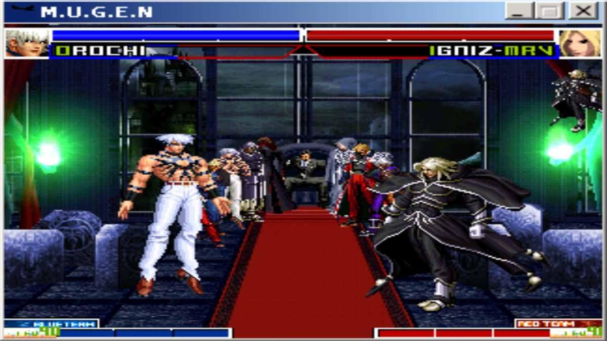 Matter MUGEN Tournament KOF Mega Boss para Android y PC