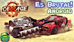 caRRage apk para Android Es el mejor juegos de lucha de Carros