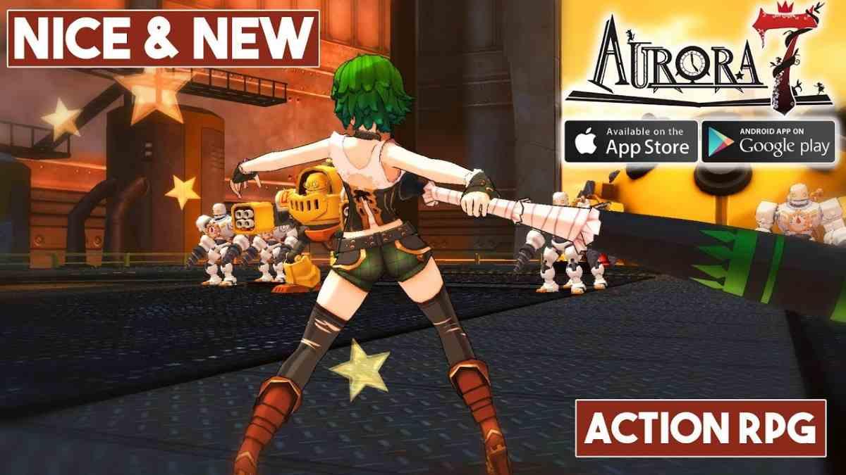 Aurora 7 para Android RPG Tremendos gráficos Historia Increíble