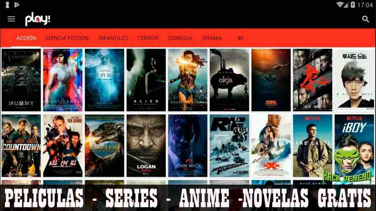 Play apk MOD Android La mejor App de Películas