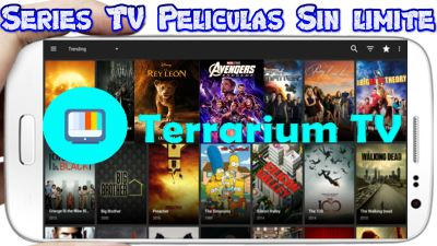 Terrarium TV APK Premium para Android la mejor app Multimedia