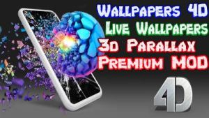 3D Parallax Background MOD para Android Wallpapers 3D 4D 4K