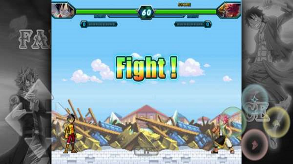 Fairy Tail vs One Piece para Android Brutal Mugen