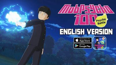 Mob Psycho 100 Mobile para Android Historia y gráficos increíbles
